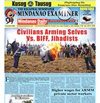 Mindanao Examiner Newspaper Jan. 25-31, 2016