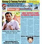 Mindanao Examiner Newspaper Feb. 15-21, 2016