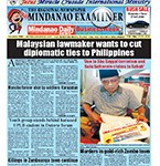 Mindanao Examiner Newspaper Mar. 21-27, 2016