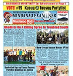 Mindanao Examiner Newspaper Mar. 28-Apr. 3, 2016