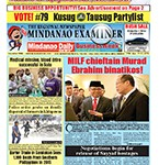 Mindanao Examiner Newspaper Apr. 11-17, 2016