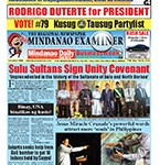 Mindanao Examiner Newspaper Apr. 18-24, 2016