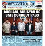 Mindanao Examiner Newspaper Aug. 1-7, 2016