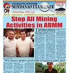 Mindanao Examiner Newspaper Aug. 8-14, 2016
