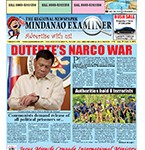 Mindanao Examiner Newspaper Aug. 29-Sept. 4, 2016