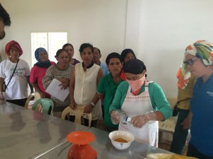 Participants in the recently concluded skills training in the manufacture of turmeric capsules in Lanao del Norte's Sultan Naga Dimaporo town. The Department of Trade and Industry and the Department of Agrarian Reform in the province are the proponents of the training. (Mindanao Examiner)