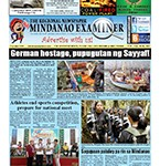 Mindanao Examiner Newspaper Feb. 20-26, 2017