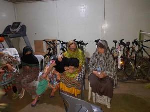 Farhana with other women
