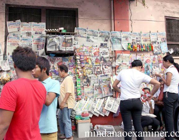 Newspaper dealers in Zamboanga City | Mindanao Examiner Regional Newspaper