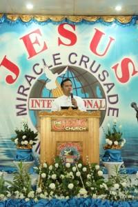 Anibersaryo ng Jesus Miracle Crusade sa pangunguna ni Ministro Wilde James Almeda.