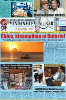 Mindanao Examiner Regional Newspaper July 1-7, 2019