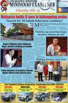 Mindanao Examiner Regional Newspaper June 24-30, 2019