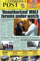 The Zamboanga Post November 11-17, 2019